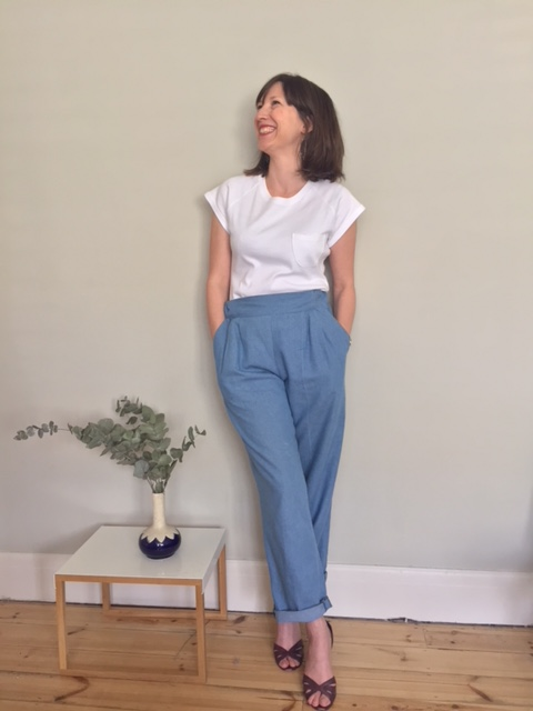 Sew Over It Carrie Trousers (hacked)