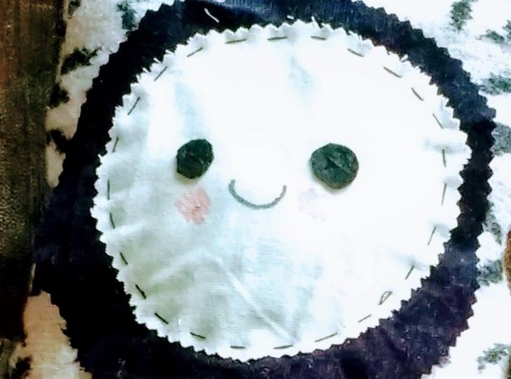 DIY toy scrap fabric handmade monster sustainable zero waste sewing