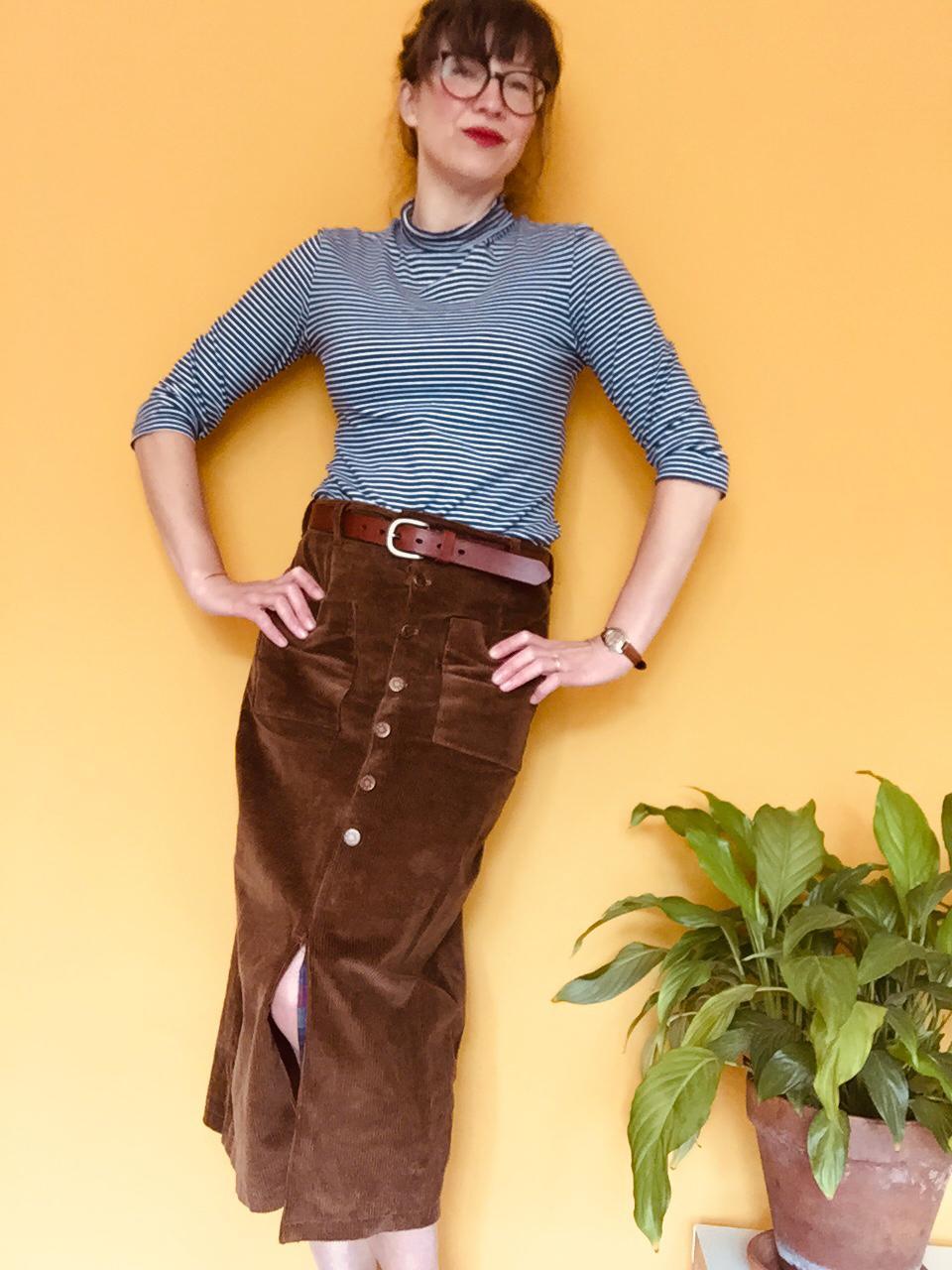 seamwork leanora skirt tilly walnes freya top