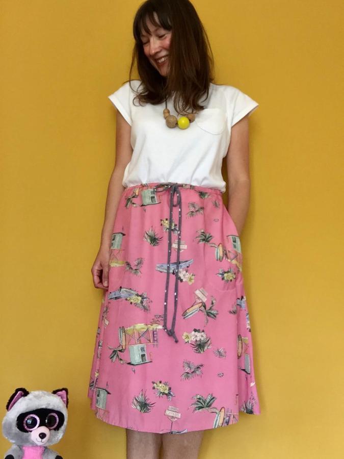 Merchant and Mills Saltmarsh Skirt + Tilly Walnes FrankieTee
