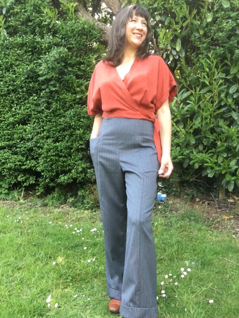 Sew Over It Ravello Top Closet Core Pietra Pants