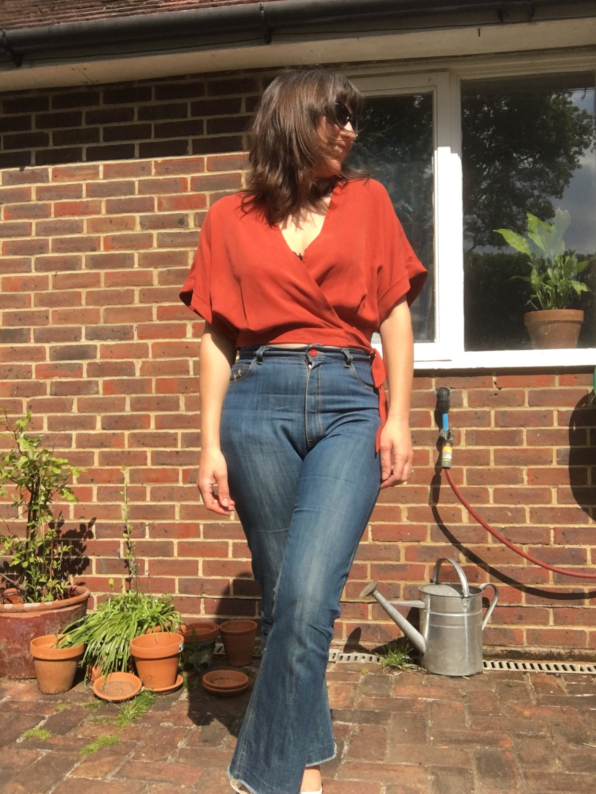 Sew Over It Ravello Top Megan Nielsen Dawn Jeans